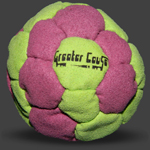 GreaterCause 32 Panel Spiral Footbag Hackysack