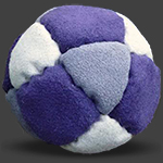 I^2 14 Panel Footbag Hacky Sack