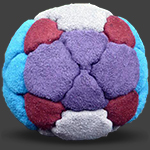 I^2 32 Panel Footbag Hacky Sack