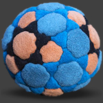 I^2 92 Panel Footbag Hacky Sack
