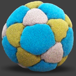 Hania 32 Panel Footbag Hackysack
