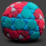 I^2 120 Panel Footbag Hacky Sack