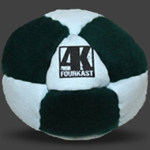 Fourkast Sidekick Footbag Hackysack